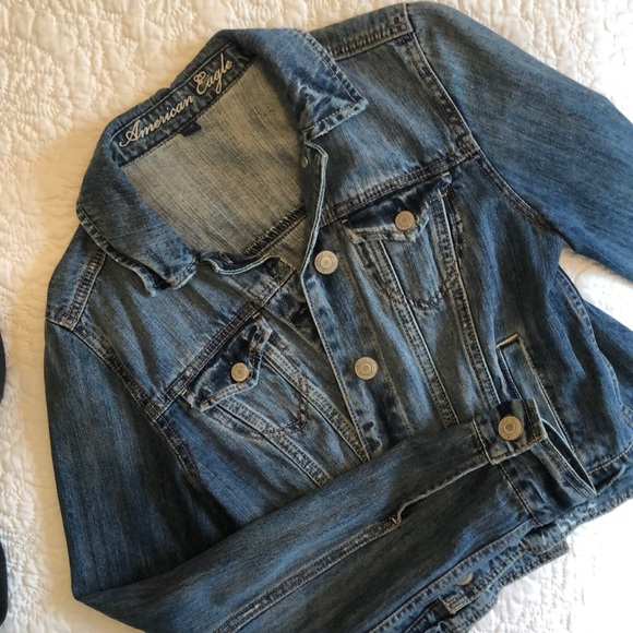 American Eagle Outfitters Rustic Jean Jacket